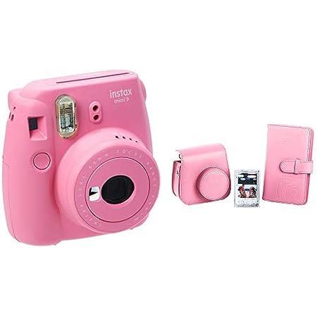 Fujifilm Instax Mini 9 Kamera Flamingo Rosa Mini 9 Kamera