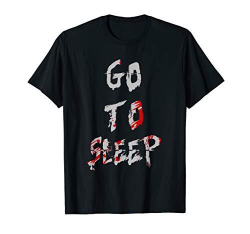 Jeff The Killer Go To Sleep Bloody Shirt