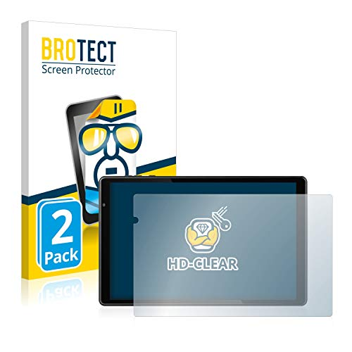 BROTECT Schutzfolie kompatibel mit Jay-tech G10.10 (2 Stück) klare Bildschirmschutz-Folie