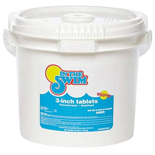 3-Inch Stabilized Pool Chlorine Tablets (25 lbs.)