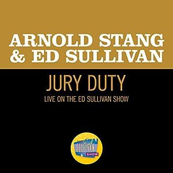 Jury Duty (Live On The Ed Sullivan Show, February 22, 1959)