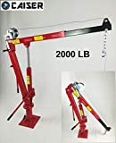 CAISER GRUA 2000 LB / 900 kg. con Winch para Pickup, camión, Remolque o Taller