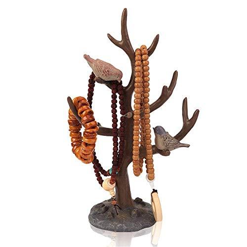 JOMOSIN SNH0216 Organizador de joyas, soporte de árbol, joyería para pendientes, pulseras, anillos y relojes (color tamaño: 10, 20, 33 cm)