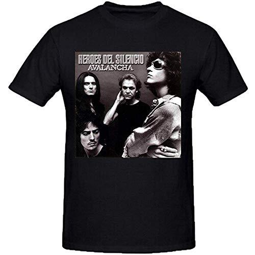 Heroes del Silencio Avalancha Men's Short Sleeve Crew Neck T-Shirt XXL