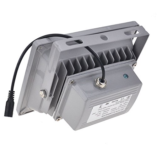 VIKYLIN Infrared Illuminator 850nm 12 LEDs 60 Degrees Wide Angle IR Illuminator IP67 Waterproof Night Vision LED Infrared Light for IP Camera, CCTV Security Camera
