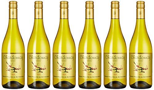 Baron Philippe de Rothschild Chardonnay - Les Cepages Vin Pays d'Oc, 6er Pack 2016/2017 (6 x 750 ml)