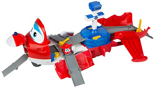 Super Wings - Jett maletín transformable en aeropuerto (ColorBaby 43976) , color/modelo surtido