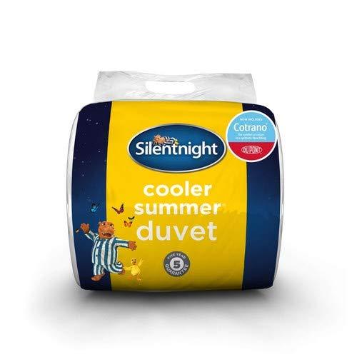 Silentnight Cooler Summer Deluxe with Dupont 4.5 tog Duvet, Super - King Size, White