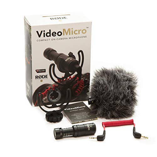 Rode VideoMicro compacte On Camera Microphone - gesorteerde kleuren