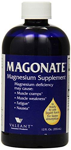 Magonate Liquid Magnesium, 12 Ounce