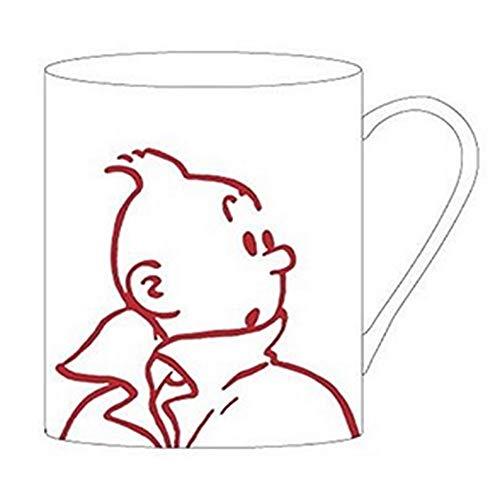 Moulinsart Tasse aus Porzellan, Einheitsgröße