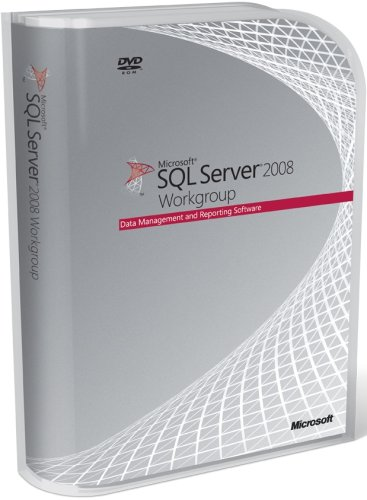 Microsoft SQL Server Workgroup Edition 2008 DVD - 5 Client (PC CD) [Import anglais]