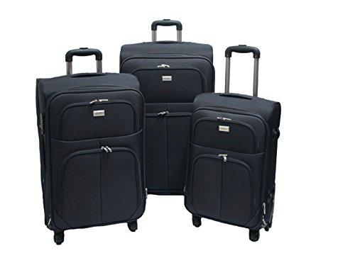 OR&MI 214 - Juego de maletas negro negro
