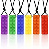 Sensory Chew Necklace Set,chewlry for Kids,Silicone Chewy Sticks for Autistic, ADHD, Oral Motor Boys and Girls Children