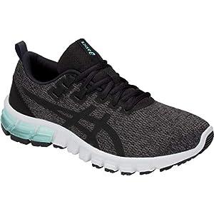 ASICS Women's Gel-Quantum 90 Running Shoes, 7M, Dark Grey/Black