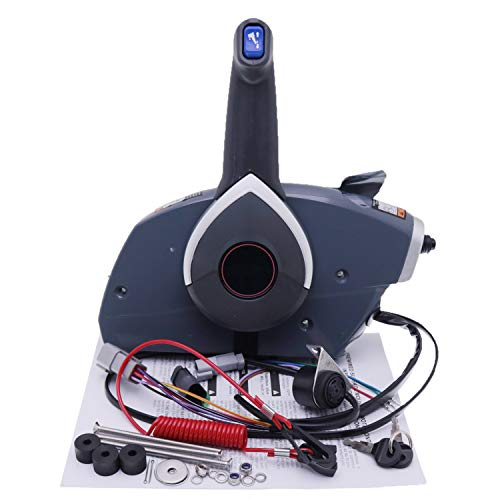 Yixin 5006180 Boat Motor Side Mount Remote Control Box for Johnson Evinrude OMC BRP Outboard Engine