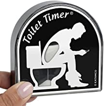Toilet Timer by Katamco (Classic), Funny Gifts for Men, Husband, Dad, Fathers Day, Birthday Gag