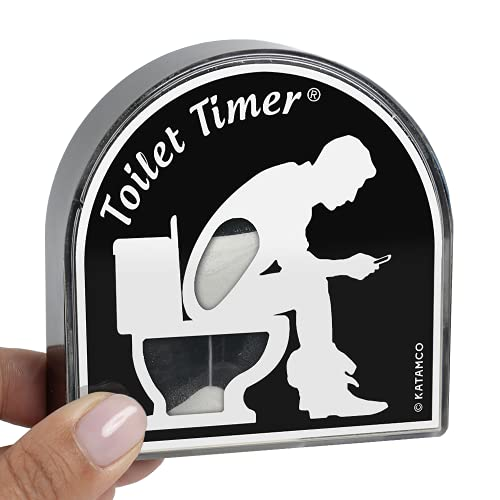 Toilet Timer by Katamco (Classic), Funny Gifts for Men, Husband, Dad,...