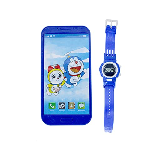 Majik Musical Smartphone with Watch Toy for Kids Boys and Girls
