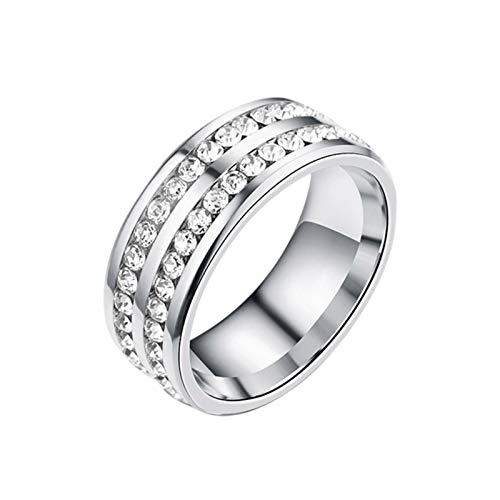 Ranana Silber Abnehmen Ring Lovers Ring Edelstahl Magnetischer Ring Zum Abnehmen Damen Herren Gewichtsverlust Ring Fur AntiMüdigkeit Gewicht Verlieren Everybody