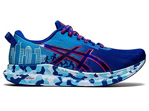 ASICS Men's Noosa Tri 13 Running Shoes, 8M, ASICS Blue/RED Alert