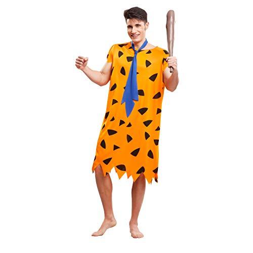 My Other Me Me-203512 Disfraz de troglodita para hombre, color naranja, M-L (Viving Costumes 203512)