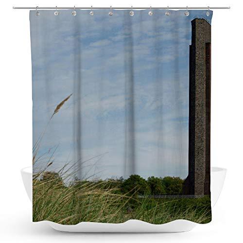 fotobar!style Duschvorhang 175 x 200 cm Ehrenmal der Marine