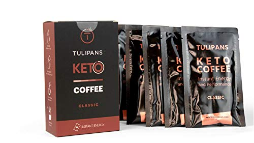 Keto Coffee - Instant Energy - Instant Butter/MCT Kaffee (20g/Portion), Größe:5 Stück