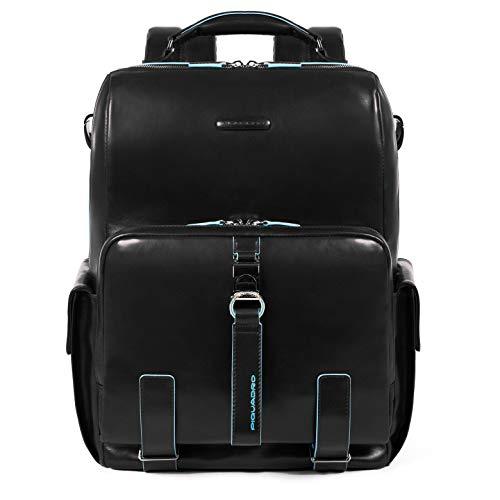 Piquadro Blue Square Laptop Backpack 14? Black