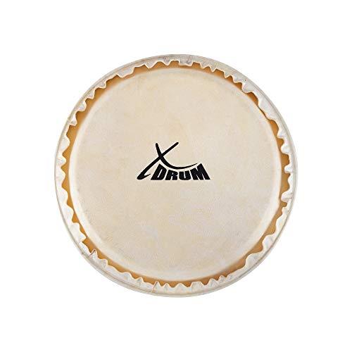 "XDrum Bongo Fell 6"" - Natur-Fell für Bongo-Trommel - Durchmesser: 6 Zoll (ca. 152 mm) - Natur"