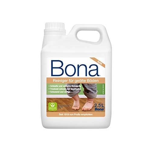 Bona Nachfüllkanister Reiniger für geölte Böden, Weiß, 2,5 L
