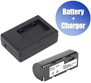 1x Charger Replacement for Ricoh DB-20L 1400 mAh BattPit trade; New 2x Digital Camera Battery