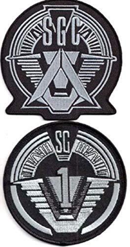Stargate SG-1 Uniform/Costume Cosplay Patch Set of 2