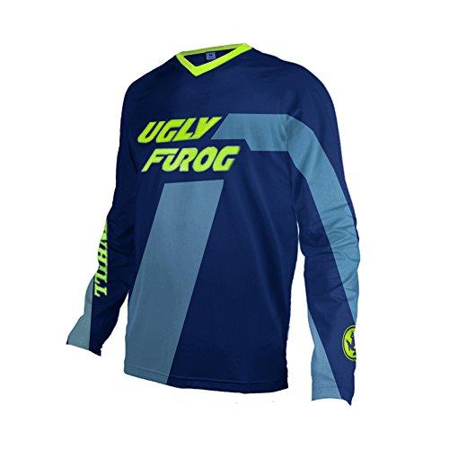Uglyfrog Designs Bike Wear Hombres Ciclismo Jersey Downhill/MTB Shirt Road Race para Ciclismo Soporte a Lot of Styles Manga Larga Transpirable Primavera Style