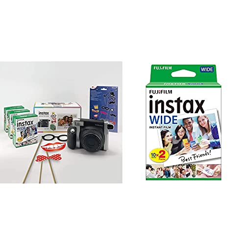 Fujifilm Imaging/Instax Wide 300 + Party Pack & Instax Colorfilm instax Reg.Glossy (10x2/PK)