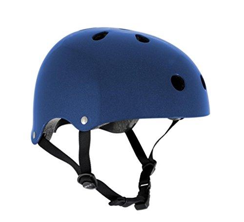 SFR skate- en fietshelm, maat XXS-XS: 49-52 cm, blauw