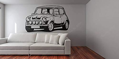 yaonuli Auto contour huisdecoratie verbetering retro decal auto ventilator verwijderbare vinyl muur sticker
