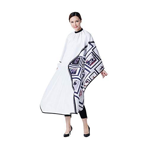 WangXN Professionele salon- Barber Cape haaruitsnijding-jurk kappersschort wikkeljurk voor vrouwen mannen