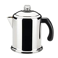 farberware classic stainless steel yosemite 8-cup coffee stovetop percolator
