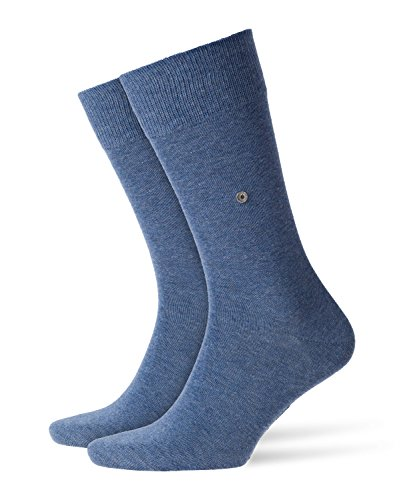 Burlington Herren Lord M SO Socken, Blau (Light Jeans 6662), 46-50