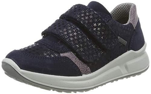 Superfit Mädchen Merida Gore-Tex Sneaker, Blau (Blau/Lila 80), 33 EU