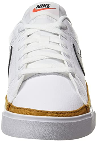 Nike Court Legacy, Zapatillas Deportivas Hombre, White Black Desert Ochre Gum Light Brown, 42 EU