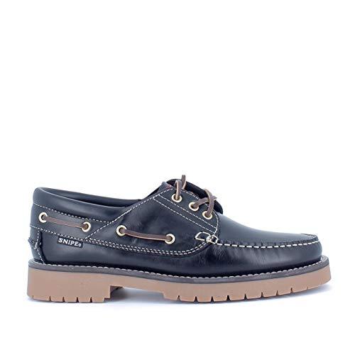 Zapatos Snipe Náuticos Azul Marino - Talla: 40 genero: Hombre