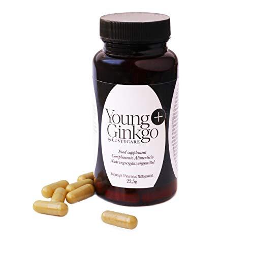 YoungPlus Ginkgo Anti-Aging Entzündungshemmende Antioxidantien - Anti-Aging - Verbessert die körperliche Leistungsfähigkeit in Situationen mit hohem Bedarf.