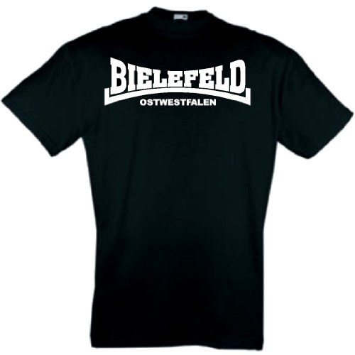 world-of-shirt Herren T-Shirt Bielefeld Ultras Ostwestfalen