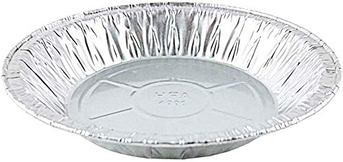 Pactogo 6' Aluminum Foil Mini Pie Pans - Disposable Small Baking Tin Plates (Pack of 200)