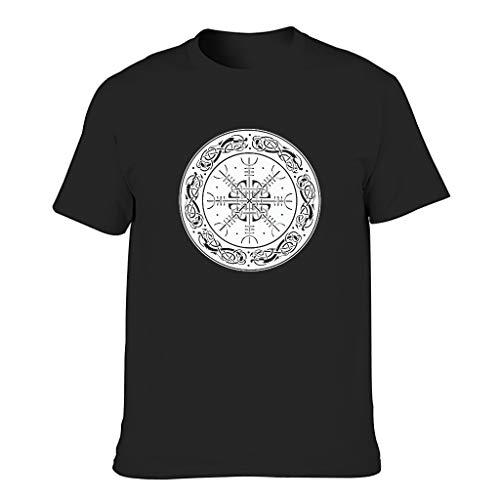 Camiseta de algodón para hombre Viking Coole, individualida