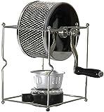 XJYDS Máquina tostadora de café Máquina tostadora de café Máquina de asado de Frijol de Acero Inoxidable de Acero Inoxidable Bricolaje Máquina de Tostado de Rodillo pequeño Frito máquina de Frijol de