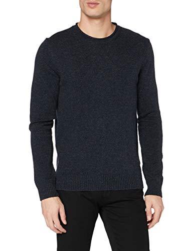 ESPRIT Herren 100EE2I304 Pullover, 400/NAVY, M