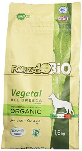 Forza10Bio Crocchette Vegetali con Alghe per Cani di Tutte Le Taglie, Bio - 1500 gr